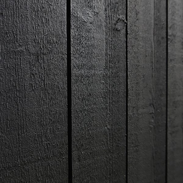 Fasad målad i Alcro arkitekt svart
