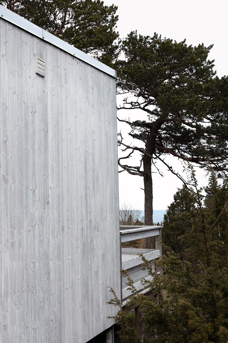 Attefallshus 30 blickar ut över skärgården