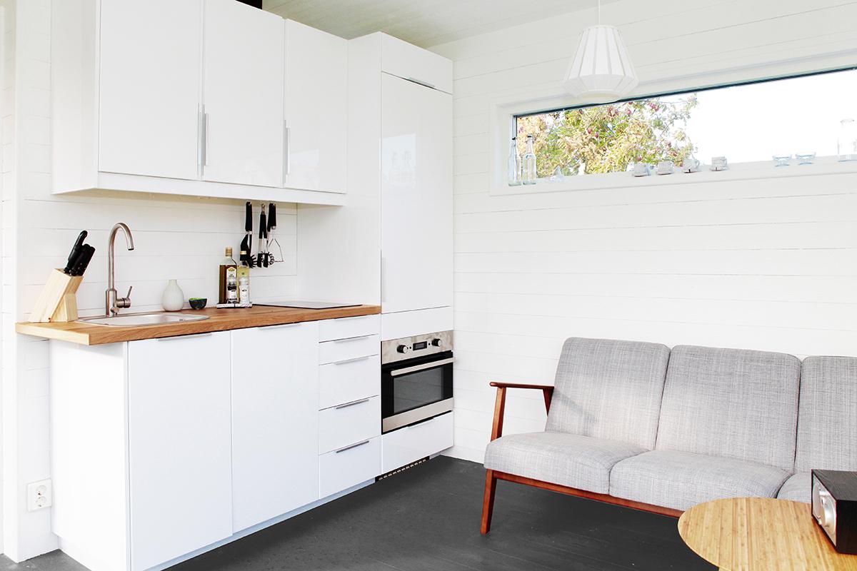 nyckelfardigt hus som bostad med kok och badrum