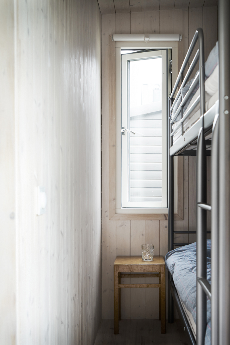 attefallshus 25 sovrum med våningssängar