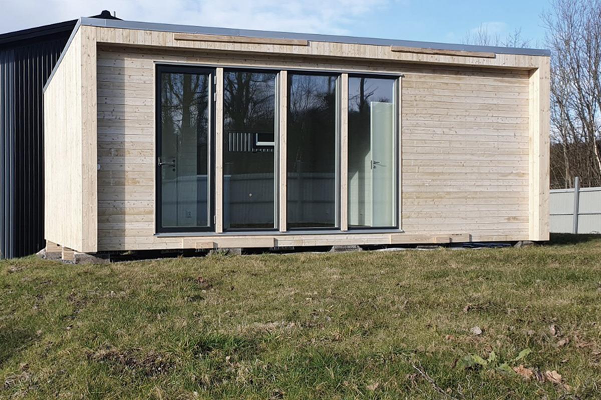 attefallshus 30 kvm visningshus exterior