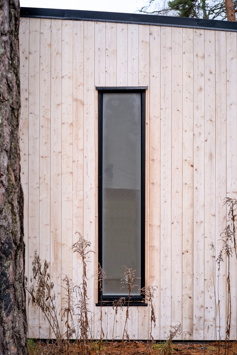 organowood fasad enkelrum