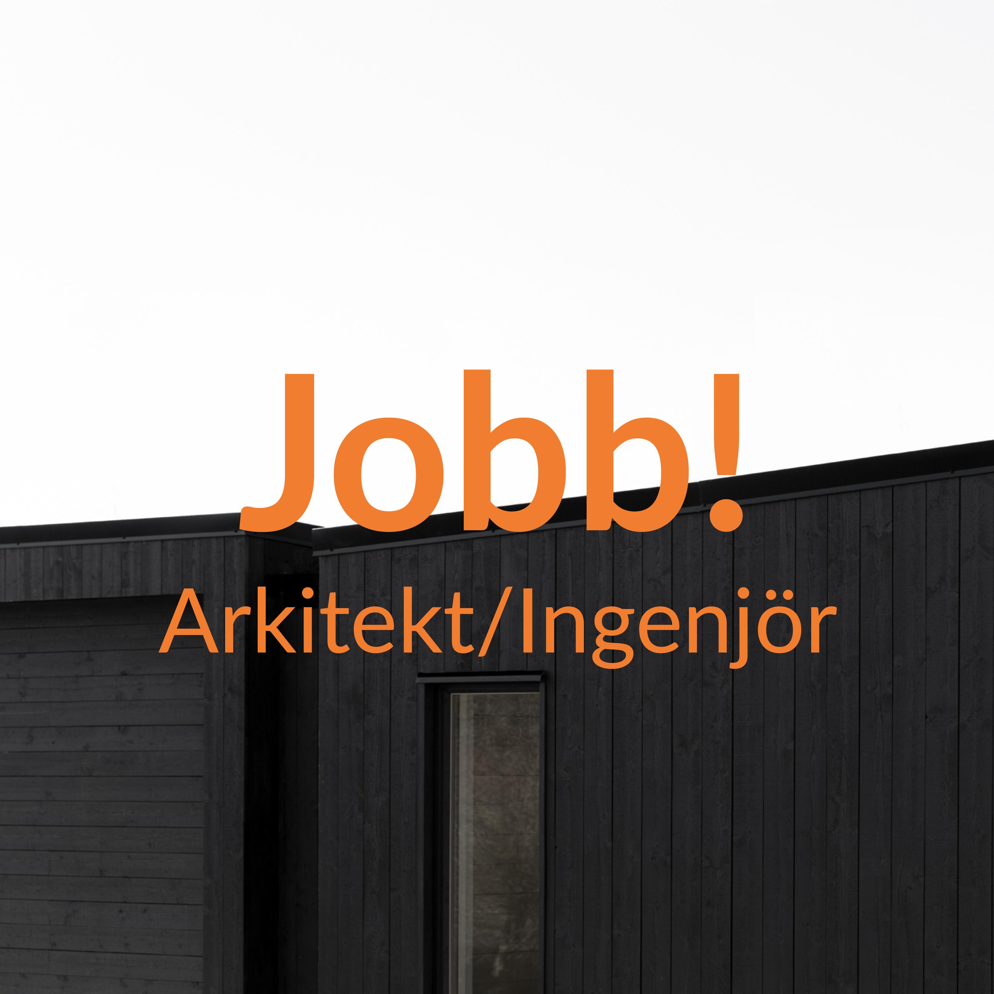 Arkitekt/Byggnadsingenjör med intresse för småhus!