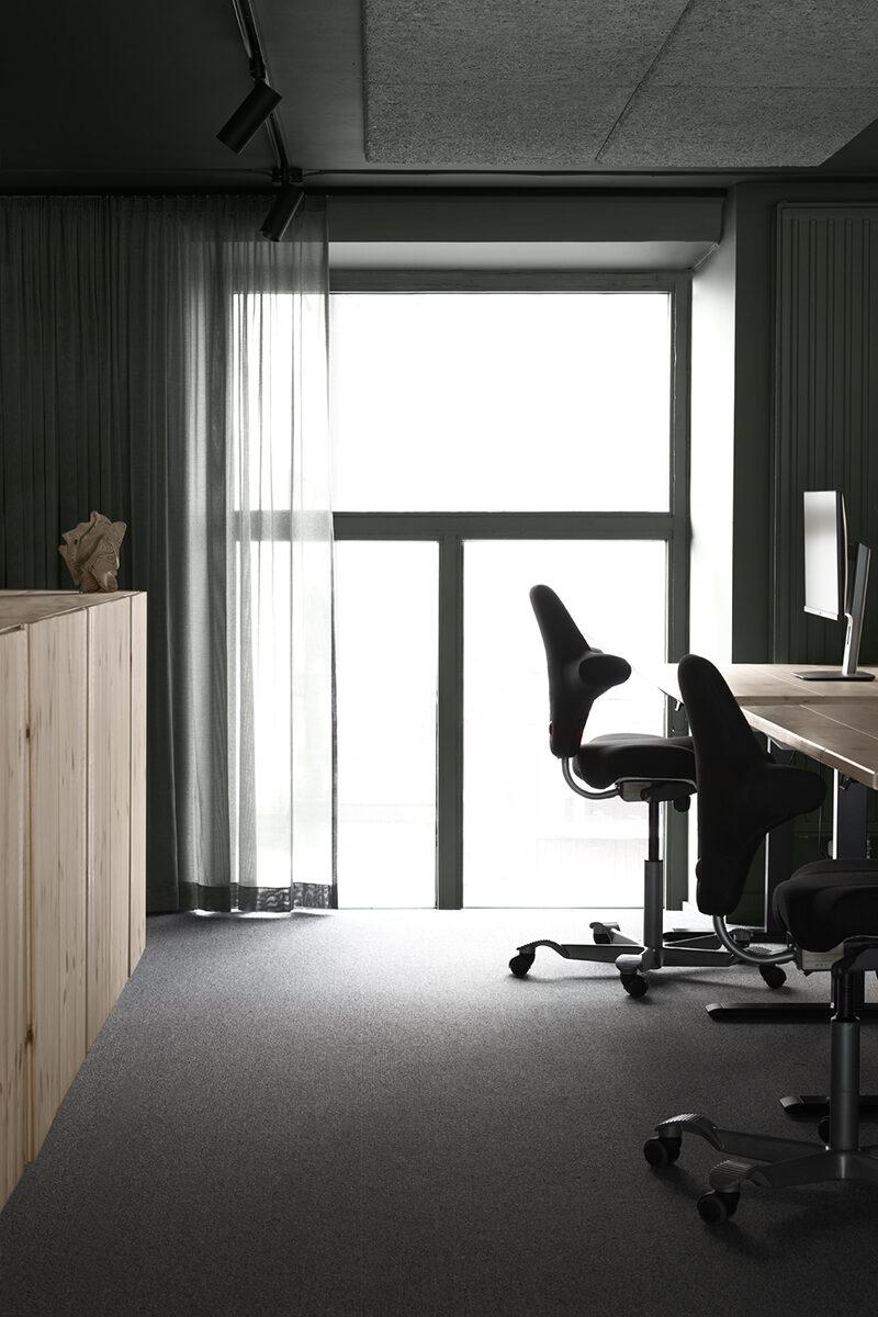 enkelrum kontor
